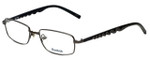 Reebok Designer Eyeglasses R1002-GUN in Matte-Gunmetal 51mm :: Rx Single Vision