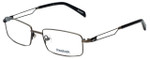 Reebok Designer Eyeglasses R2021-GUB in Gunmetal 54mm :: Rx Single Vision