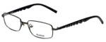 Reebok Designer Eyeglasses R1002-GUN in Matte-Gunmetal 51mm :: Progressive