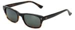 Reptile Designer Polarized Sunglasses Agamid in Black-Tortoise with Flash Mirror Lens