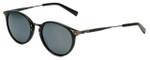 Reptile Designer Polarized Sunglasses Darwin in Black with Flash Mirror Lens