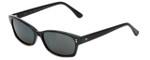 Reptile Designer Polarized Sunglasses Lacerta in Black with Grey Lens