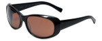 Reptile Designer Polarized Sunglasses Medusa in Black with Amber Lens