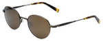 Reptile Designer Polarized Sunglasses Pinzon in Antique-Gold with Gold Mirror Lens