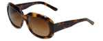 Reptile Designer Polarized Sunglasses Woma in Tortoise with Amber-Gradient Lens