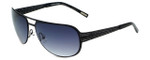 Renoma Designer Sunglasses Ruben 0000 in Black with Grey Gradient Lens