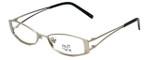 Hilary Duff 121082 Designer Eyeglasses in Silver :: Rx Single Vision