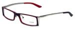 Fred Lunettes Designer Eyeglasses St. Moritz C1-001 in Red 52mm :: Rx Single Vision
