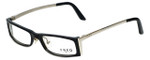 Fred Lunettes Designer Eyeglasses St. Moritz C3-003 in Black 50mm :: Rx Single Vision
