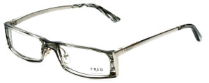 4fc0db88886 Fred Lunettes Designer Eyeglasses St. Moritz C1-002 in Grey-Marble 52mm     Progressive - Designer Reading Glasses