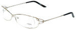 Fred Lunettes Designer Eyeglasses Volute N1-002 in Silver 53mm :: Rx Bi-Focal