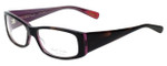 Paul Smith Designer Eyeglasses PS416-BHPL in Black-Horn 53mm :: Custom Left & Right Lens
