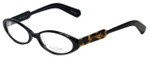 Paul Smith Designer Eyeglasses PS296-OXDTBK in Black 52mm :: Rx Single Vision
