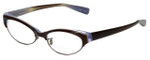 Paul Smith Designer Eyeglasses No color code on framePS412 in Brown 50mm :: Progressive
