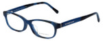 Burberry Designer Eyeglasses BE2202F-3546 in Spotted-Blue 52mm :: Custom Left & Right Lens