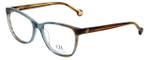 Carolina Herrera Designer Reading Glasses VHE717K-0844 in Blue-Brown 54mm
