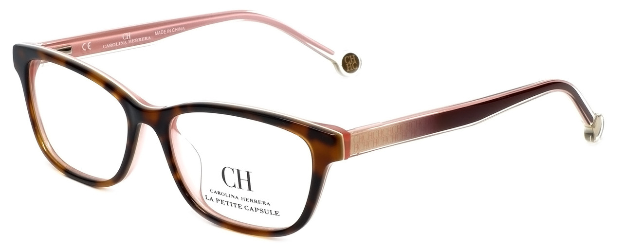4f0ae7271c Carolina Herrera Designer Reading Glasses VHE725K-OV35 in Tortoise ...