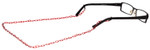 Link Eyeglass Chain in Wine by Calabria