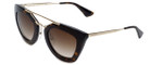 Prada Designer Sunglasses PR09QS-2AU6S1 in Tortoise & Brown Gradient Lens