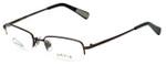 Orvis Designer Eyeglasses Dragon Fly in Dark-Brown 49mm :: Custom Left & Right Lens