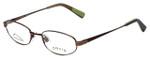Orvis Designer Eyeglasses Compass in Brown 49mm :: Rx Single Vision