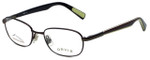 Orvis Designer Eyeglasses Target in Brown-Green 48mm :: Rx Single Vision