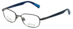 Orvis Designer Eyeglasses Target in Gunmetal-Blue 48mm :: Rx Single Vision