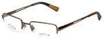 Orvis Designer Eyeglasses Streamline in Light-Brown 47mm :: Rx Bi-Focal