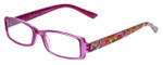 Vera Bradley Designer Eyeglasses Monica-CLM in Clementine 49mm :: Custom Left & Right Lens