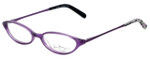 Vera Bradley Designer Eyeglasses Nicole-PPP in Purple-Punch 47mm :: Custom Left & Right Lens