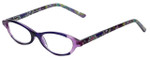 Vera Bradley Designer Eyeglasses Suzanne-HTR in Heather 49mm :: Rx Single Vision