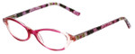Vera Bradley Designer Eyeglasses Suzanne-OPK in Olivia-Pink 49mm :: Rx Single Vision