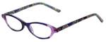 Vera Bradley Designer Eyeglasses Suzanne-HTR in Heather 49mm :: Progressive
