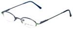John Lennon Designer Eyeglasses JL249NF-056 (Small Fit) in Blue-Green 46mm :: Progressive