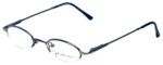 John Lennon Designer Eyeglasses JL249NF-056 (Small Fit) in Blue-Green 46mm :: Rx Bi-Focal