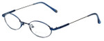 John Lennon Designer Reading Glasses JL265F-057 in Blue 47mm