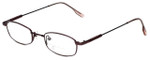John Lennon Designer Reading Glasses JLC102-Burgundy in Burgundy 47mm
