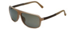 Porsche Designer Sunglasses P8554-B in Beige with Grey Lens