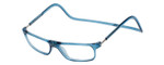 Clic Designer Eyeglasses Executive Style in Blue Jeans :: Progressive