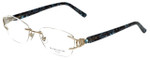 Marchon Designer Eyeglasses Airlock 830-219 in Gold 52mm :: Custom Left & Right Lens