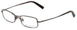 John Varvatos Designer Eyeglasses V105 in Brown 51mm :: Custom Left & Right Lens