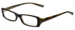 John Varvatos Designer Eyeglasses V303 in Tortoise-Horn 52mm :: Rx Single Vision