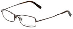 John Varvatos Designer Eyeglasses V105 in Brown 51mm :: Progressive