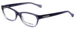 Dolce & Gabbana Designer Eyeglasses DD1205-1674 in Violet 52mm :: Custom Left & Right Lens