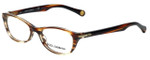 Dolce & Gabbana Designer Eyeglasses DD1218-1572 in Striped-Havana 49mm :: Rx Single Vision