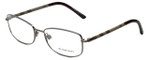 Burberry Designer Eyeglasses B1221-1003 in Gunmetal 54mm :: Rx Single Vision