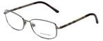 Burberry Designer Eyeglasses B1221-1003 in Gunmetal 54mm :: Rx Single Vision