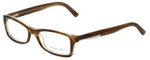 Burberry Designer Reading Glasses B2076-3083 in Striped Beige 50mm