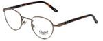 Persol Designer Eyeglasses PO2379-956 in Matte-Brown 44mm :: Rx Single Vision