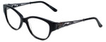 Judith Leiber Designer Eyeglasses JL3010-01 in Onyx 52mm :: Rx Single Vision